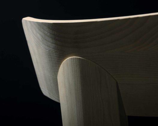Stuhllehnen Detail