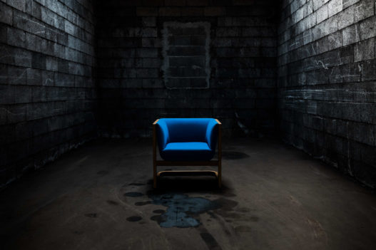 Crafted Collection Fauteuil blau