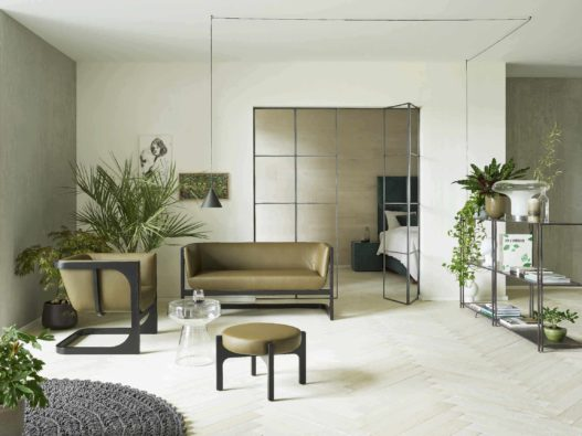 Fauteuil-Bank und Fauteuil der Crafted Collection