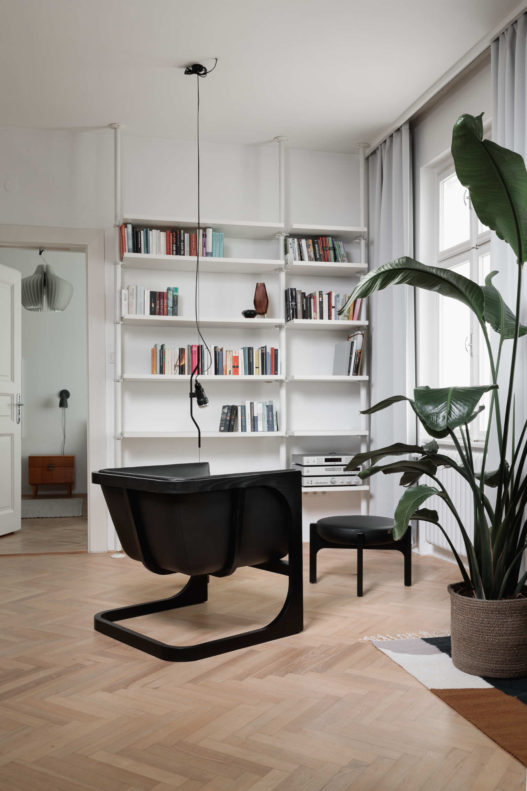 Crafted Collection Fauteuil schwarz in Wohnbereich