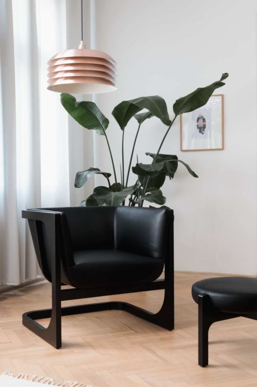 Crafted Collection Fauteuil schwarz