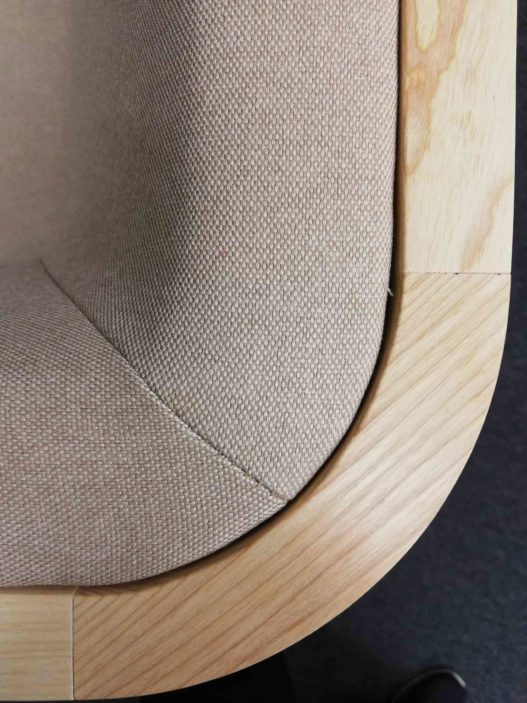 Crafted Collection Fauteuil Detail