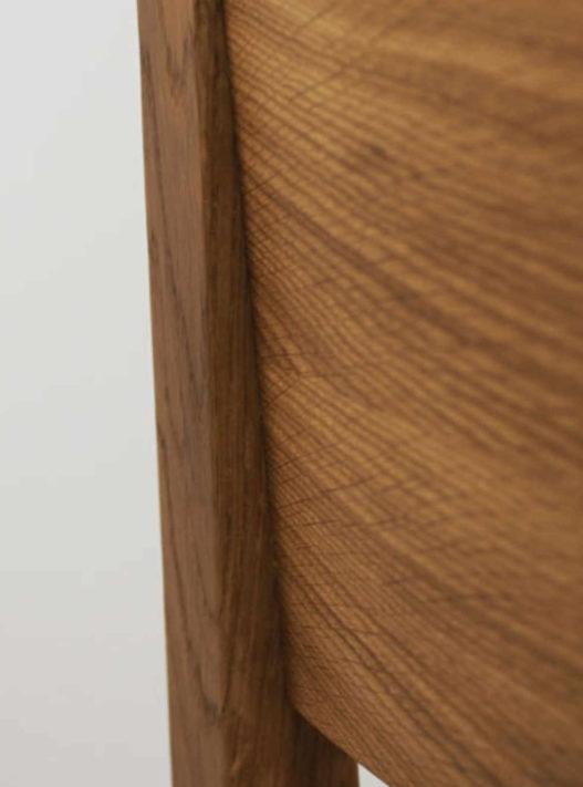 Rückenlehne Detail von Trewit Stuhl Emil