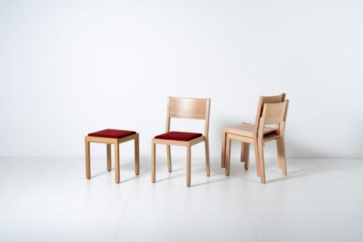 Übersicht der Trewit Lipp Hocker und Stühle mit und ohne Polsterung