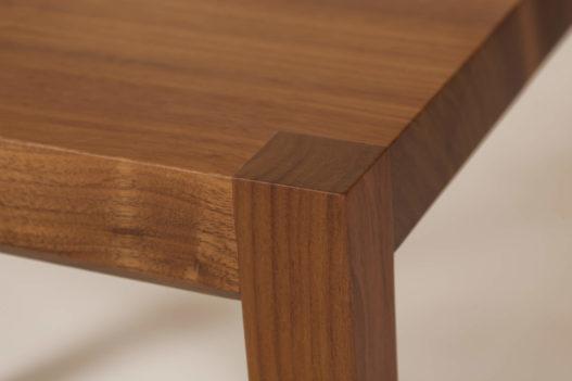 Trewit Esszimmerstuhl Lilly Sitzfläche Detail Nuss