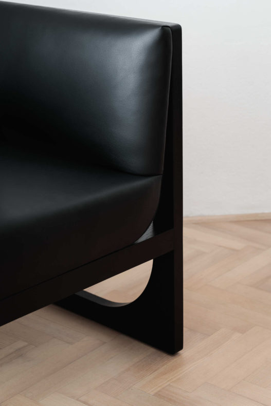 Trewit Crafted Collection Fauteuil schwarz Detail