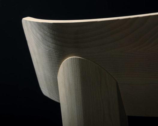 Trewit Stuhl Kofel Lehne Detail