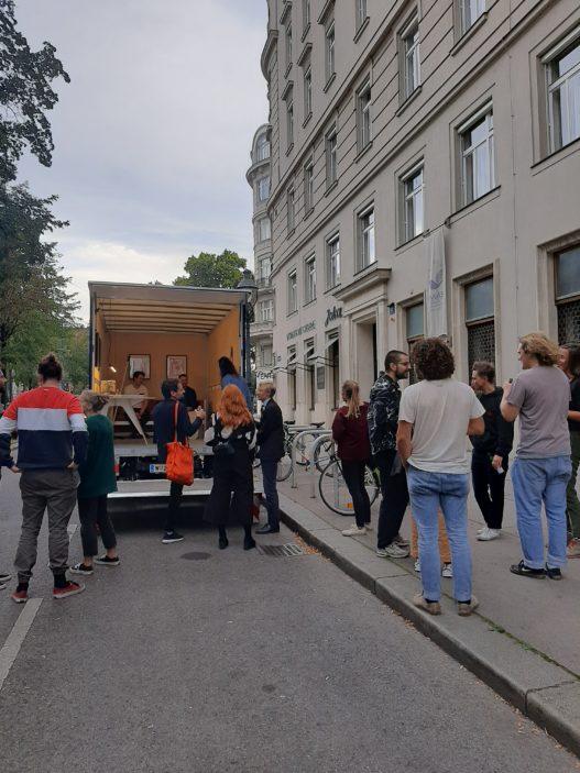 Mobile Ausstellung bei Vienna Design Week 2020