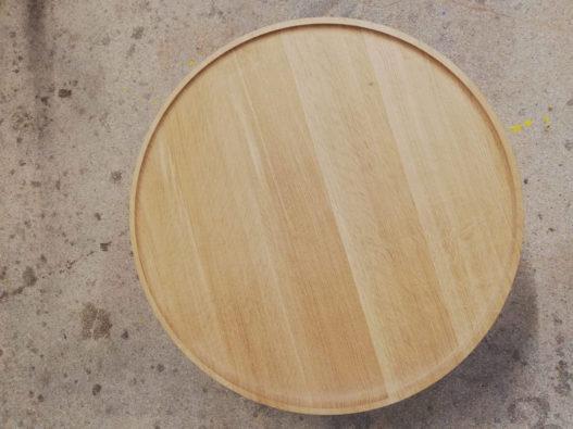 Beistelltisch Marie Tischplatte von oben