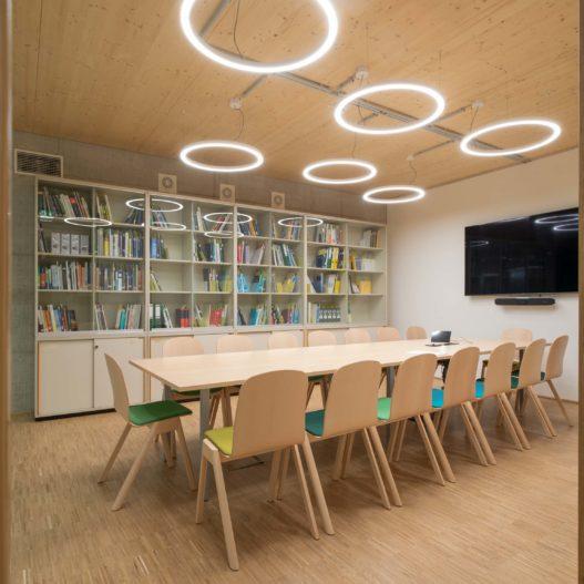 BOKU Wien TRAX Stühle und Tische