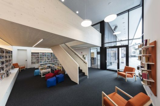 Bibliothek des Veranstaltungszentrum Gampern