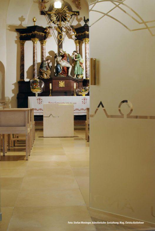 Einblick in die Kapelle Neufelden