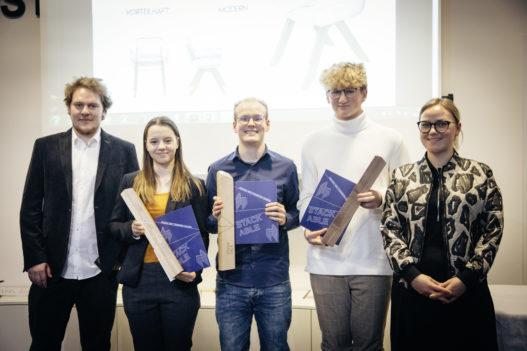 GewinnerInnen Ideenwettbewerb HTBLA Hallstatt mit Sophie Wittmann