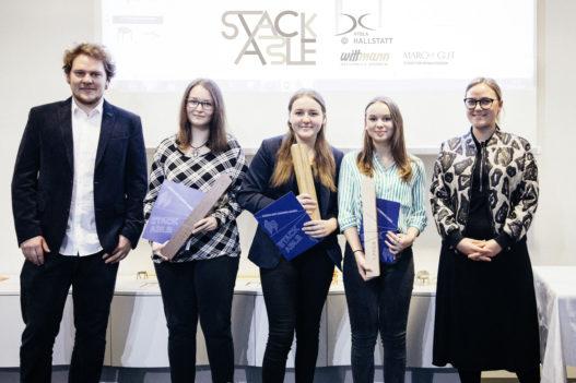 GewinnerInnen des Ideenwettbewerbs der HTBLA Hallstatt