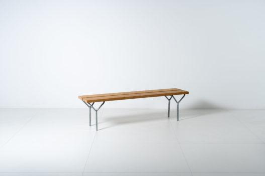 Sitzbank von Designer Robert Ruef