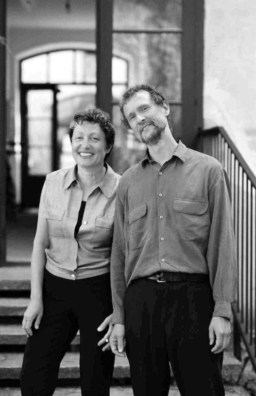 Designer Sonja Gasparin und Beny Meier