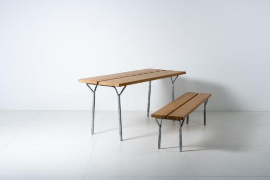 Trewit Tisch und Bank Garnitur Kofel