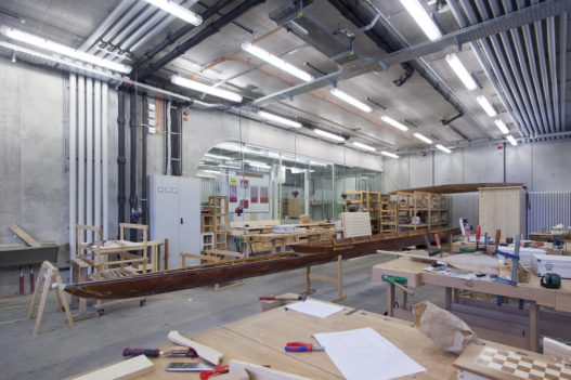Bottsbau in Werkstatt der HTL Hallstatt