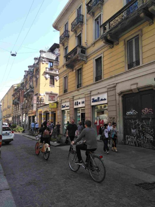 Via Paolo Sarpi in Mailand