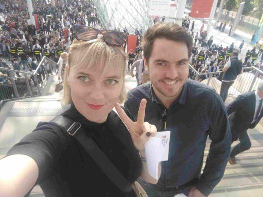 Sophie & Max Wittmann bei der Design Week in Mailand / Salone del Mobile
